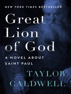 cover image of Great Lion of God
