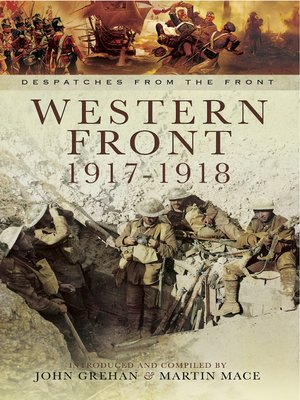 cover image of Western Front, 1917–1918