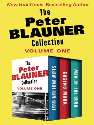 cover image of The Peter Blauner Collection Volume One