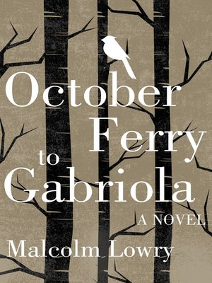 cover image of October Ferry to Gabriola