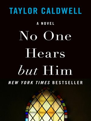 cover image of No One Hears but Him