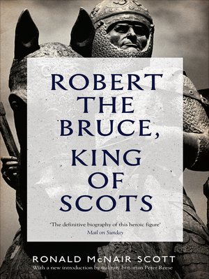 cover image of Robert the Bruce, King of Scots