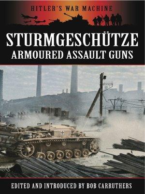 cover image of Sturmgeschütze
