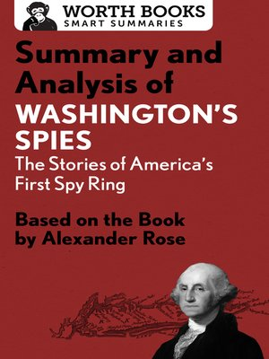 cover image of Summary and Analysis of Washington's Spies