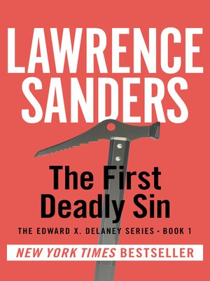 cover image of The First Deadly Sin