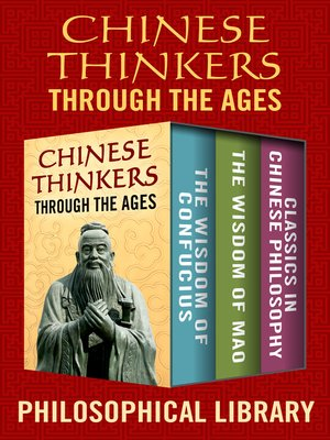 cover image of Chinese Thinkers Through the Ages