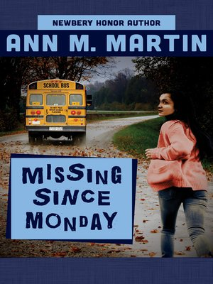 cover image of Missing Since Monday