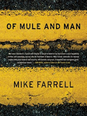 cover image of Of Mule and Man