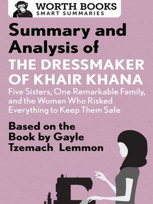 cover image of Summary and Analysis of the Dressmaker of Khair Khana