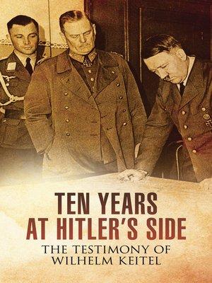cover image of Ten Years at Hitler's Side