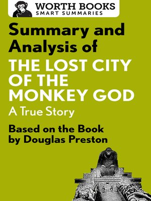 cover image of Summary and Analysis of the Lost City of the Monkey God