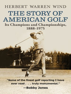 cover image of The Story of American Golf