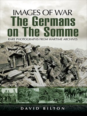 cover image of The Germans on the Somme