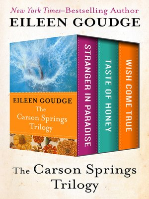 cover image of Carson Springs Trilogy