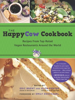 cover image of The HappyCow Cookbook