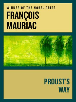 cover image of Proust's Way