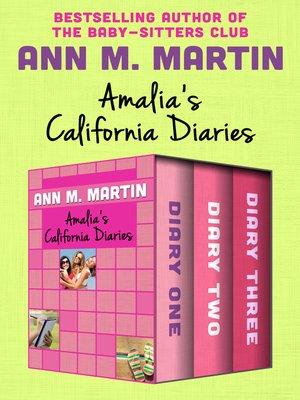 cover image of Amalia's California Diaries