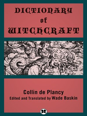 cover image of Dictionary of Witchcraft