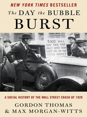 cover image of The Day the Bubble Burst