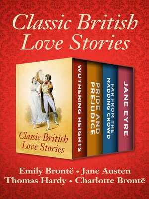 cover image of Classic British Love Stories