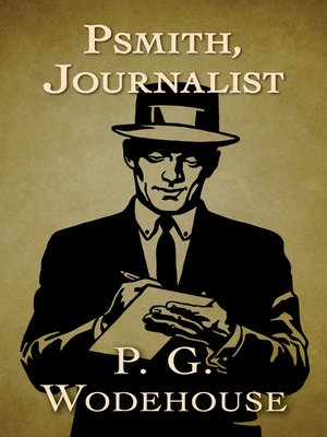 cover image of Psmith, Journalist