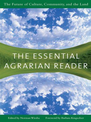 cover image of The Essential Agrarian Reader