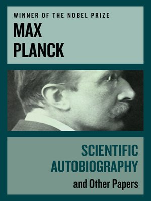 cover image of Scientific Autobiography