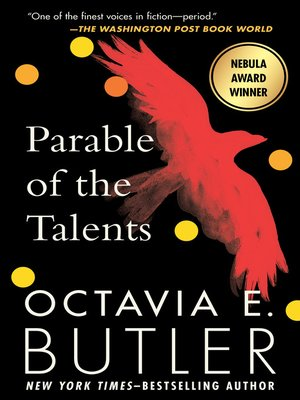 Cover image for Parable of the Talents
