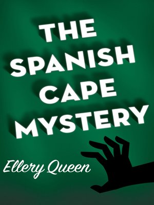 cover image of Spanish Cape Mystery