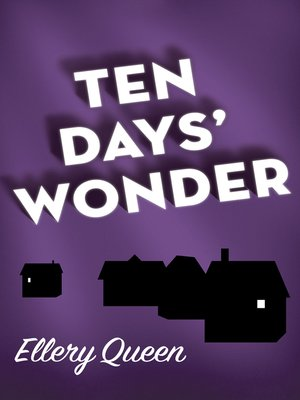 cover image of Ten Days' Wonder