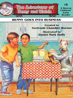 cover image of Benny Goes Into Business