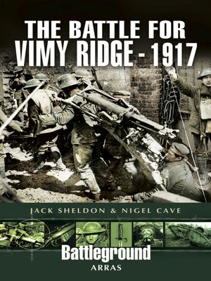cover image of The Battle for Vimy Ridge, 1917