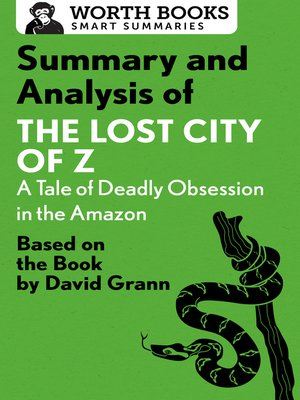 cover image of Summary and Analysis of the Lost City of Z
