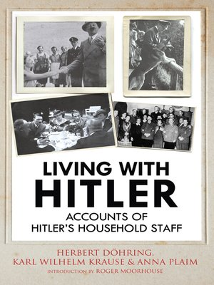 cover image of Living with Hitler