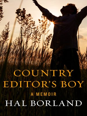 cover image of Country Editor's Boy