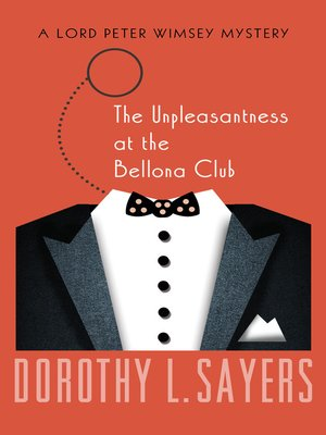 cover image of The Unpleasantness at the Bellona Club
