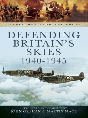 cover image of Defending Britain's Skies, 1940–1945