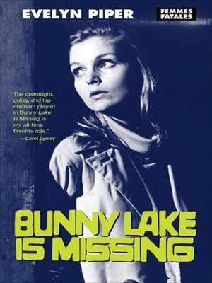 cover image of Bunny Lake Is Missing