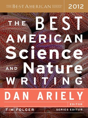 cover image of The Best American Science and Nature Writing 2012