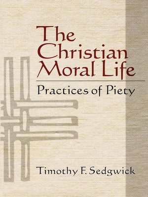 cover image of The Christian Moral Life