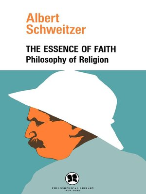 cover image of The Essence of Faith