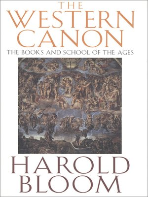 cover image of The Western Canon