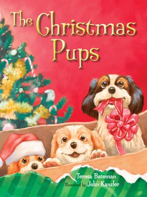 cover image of The Christmas Pups