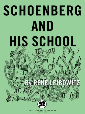 cover image of Schoenberg and His School