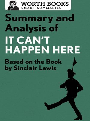 cover image of Summary and Analysis of It Can't Happen Here