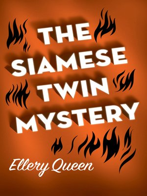 cover image of Siamese Twin Mystery