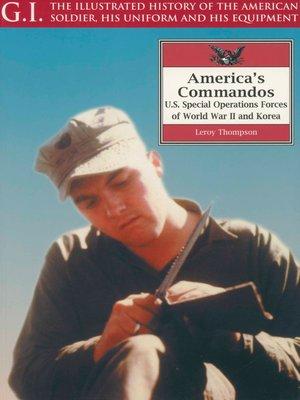 cover image of America's Commandos