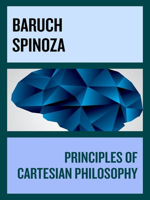 cover image of Principles of Cartesian Philosophy