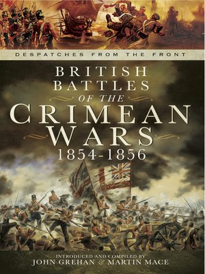 cover image of British Battles of the Crimean Wars, 1854–1856