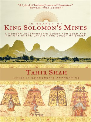 cover image of In Search of King Solomon's Mines